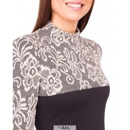 Suknelė kreminiu viršumi SR01MJ02