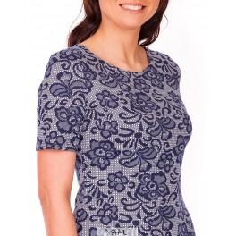 Mėlyna vasarinė suknelė VSSMM01
