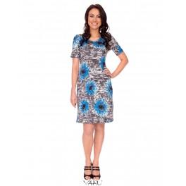 "Suknelė "" Mėlyna saulėgrąža"" VSSMMA08"