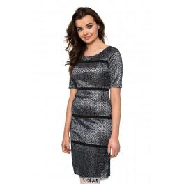 Proginė suknelė linijomis PSTMP01