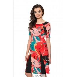 Suknelė su intarpais VSKLMR02