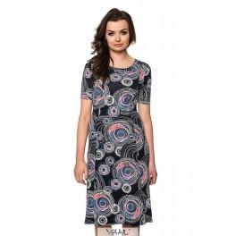 Platėjanti suknelė su rankovėlėmis VSP02MM01