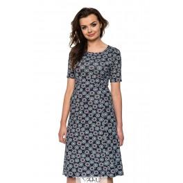 Platėjanti suknelė su rankovėlėmis VSP02MM02