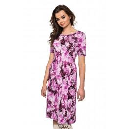 Platėjanti suknelė su rankovėlėmis VSP02MR01