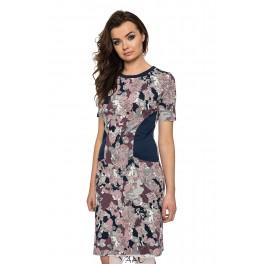 Marga suknelė su kišenėmis VSR02MMA01