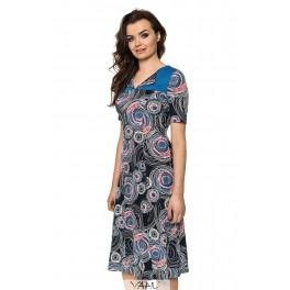 Platėjanti suknelė su kalnieriuku VSV5MM01