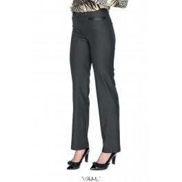 Pilkos klasikinės kelnės su kišenėmis KK2MP02