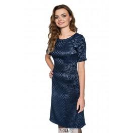 Mėlyna proginė suknelė PSSMM06