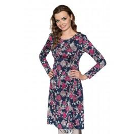 Gėlėta platėjanti suknelė SP1MM06