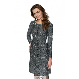 Elegantiška pilka suknelė SSMP05