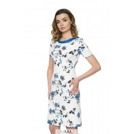 Balta tiesi proginė suknelė PSSMB02