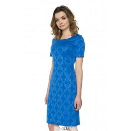 Mėlyna proginė suknelė PSSMM07