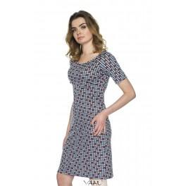 Languota suknelė reglano rankovėmis VSV3MM05