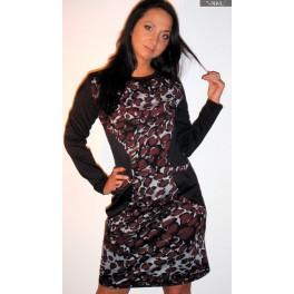 Marga su kišenėmis suknelė, SR02MBR01