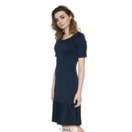 Mėlyna suknelė plačia apačia PSV11M01