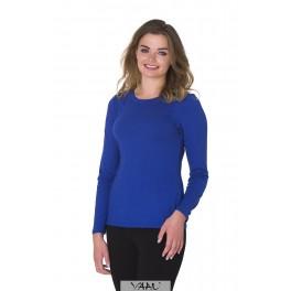 Mėlyna moteriška palaidinė PSMME01