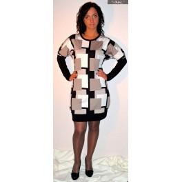 Suknelė su kvadratais, SŽ4MM01