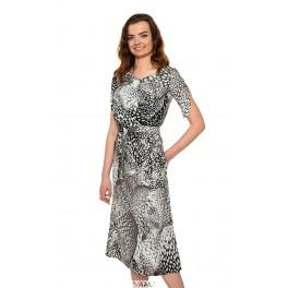 Ilga susiaučiama suknelė VSL1MP01