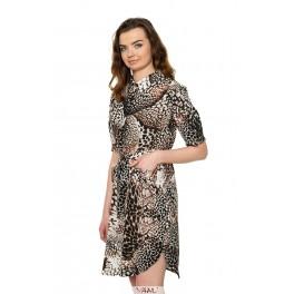 Tigrinė marškinių tipo suknelė VSM1MRD01