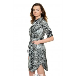 Pilka susagstoma suknelė VSM1MP01