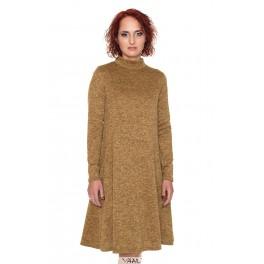 Garstyčių spalvos suknelė su kišenėmis  SR04MRD02