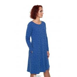 Žydra suknelė su vilna  SR04MM04