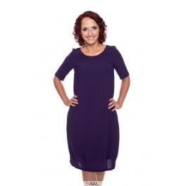 Tamsiai violetinė puošni suknelė PSKUV01