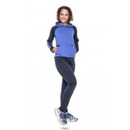 """Mėlynas laisvalaikio kostiumas """"Sportinis""""  KoLS1MM01"""
