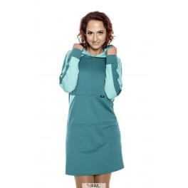 Žalia laisvalaikio stiliaus suknelė  SLSMŽ01