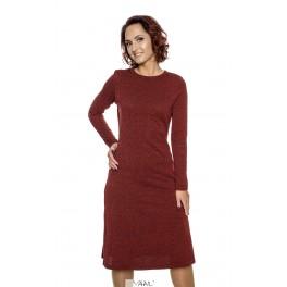 Raudona platėjanti suknelė  SP1MR01