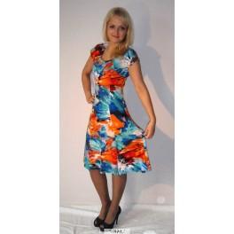 Ryškiaspalvė platėjanti  suknelė, VS6MMA05