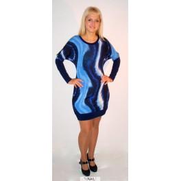 Suknelė mėlynomis bangomis SŽ4MM04
