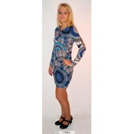 Mezginio raštų tunika - suknelė TSMM01