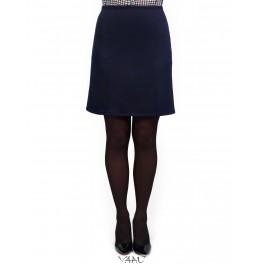Mėlynas trikotažo sijonas SI2MM01
