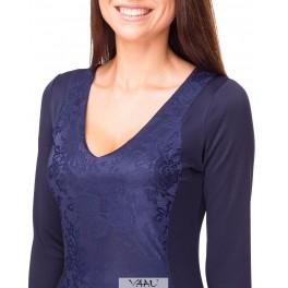 Mėlyna proginė suknelė PSLMM02