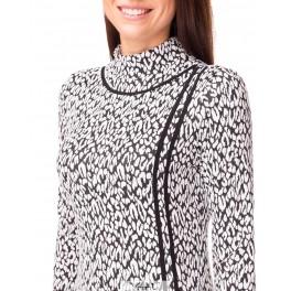 Kostiumėlio tipo suknelė aukštu kaklu SKMMA05