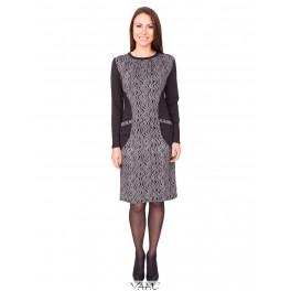 Suknelės su kišenėmis juodomis nugaromis SR02MP04
